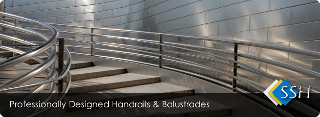 stainless steel handrails manchester