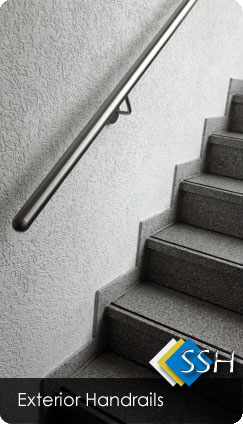 exterior Stainless Steel Handrails