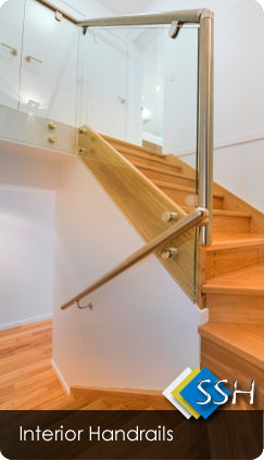 Interior Stainless Steel Handrails